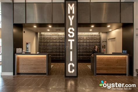 industrial reception desk mystic hotel oyster review photos