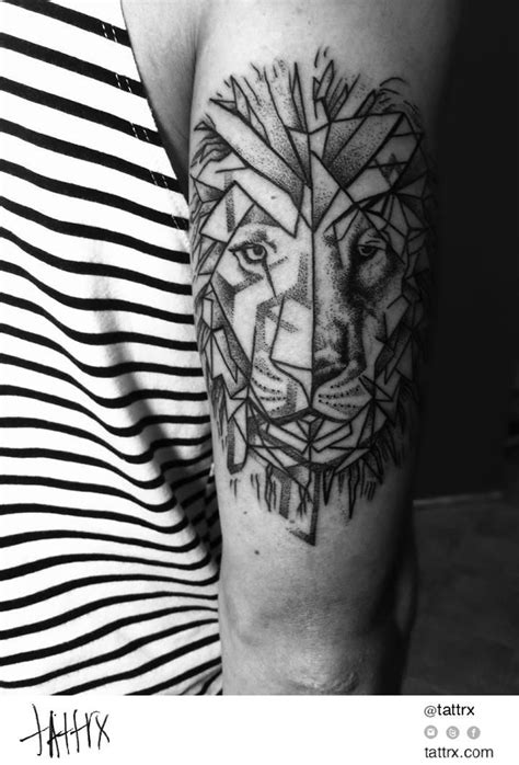 polygon tattoo 21 best color geometric images on