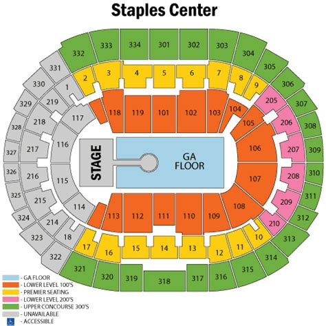 staples center map staples center seating diagram staples auto engine and parts diagram