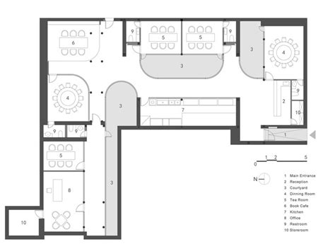tea house plans tea house in hutong archstudio archdaily
