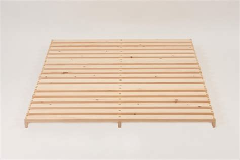 Osumi Low Level Pine Futon Bed Frame Low Level Bed Frame