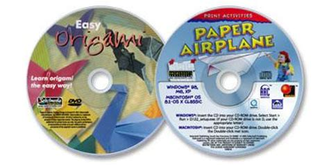 origami dvd 2 disc set paper airplane cd rom easy origami dvd