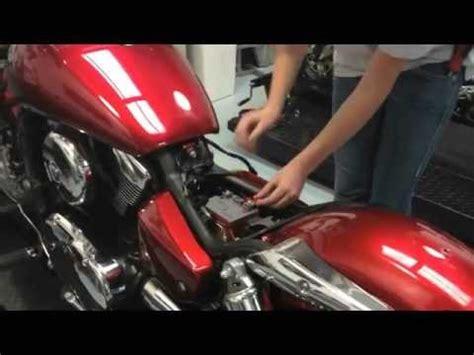 Motorrad Custom Batterie by Alien Motion Am12 Battery Installation In Kawasaki Vulcan
