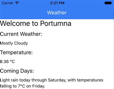 ionic tutorial weather tutorial create a weather and news reader app with ionic
