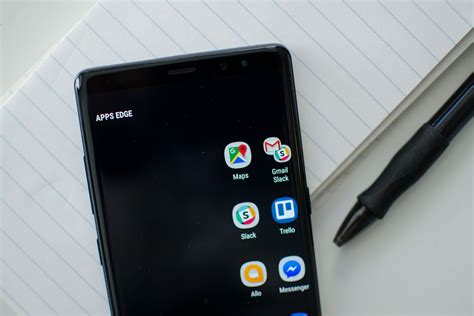 note 8 edge lighting put your s pen to good use with these galaxy note 8 tips
