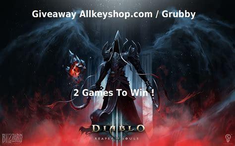 Reaper Of Souls Key Giveaway - giveaways 2 cd keys of diablo 3 reaper of souls to win with grubby allkeyshop com
