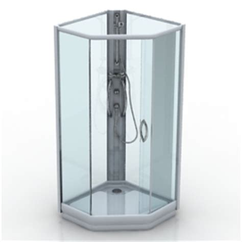 Shower Model by 3d Sanitary Ware Shower Ifo Prisma Ppk444 N030512 3d