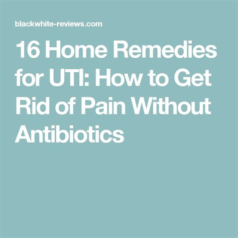17 best ideas about uti remedies on burns