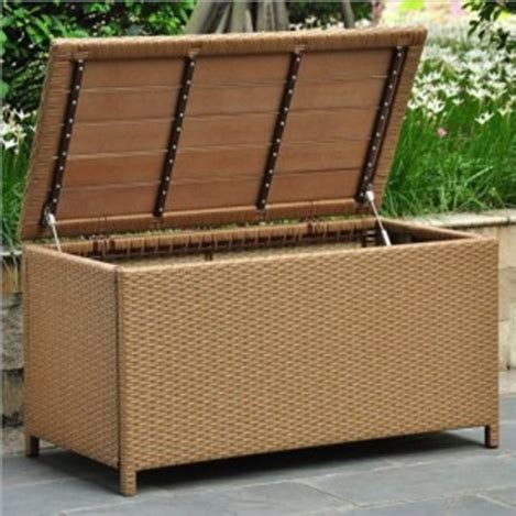 resin wicker storage bench choosing an outdoor resin wicker storage bench or box