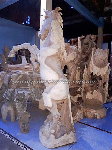 Harga Patung Kayu by Jual Patung Kayu Kuda Jingkrak Asli Jepara Harga Murah