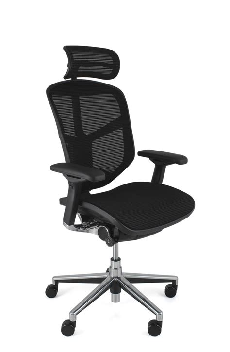 Chair Headrest by Enjoy Ergonomic Mesh Office Chair With Headrest Office Furniture Warehouse