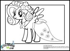 My little pony fluttershy coloring pages minister coloring