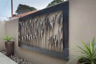 exterior wall decor outdoor interesting type idea with the beautiful mode of