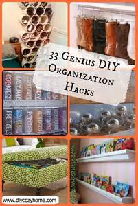Storage Ideas Diy 33 Genius Diy Organization Hacks Love The Idea For Cans