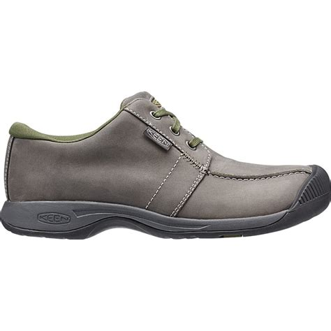 keen mens reisen low magnet leather shoe with comfortable