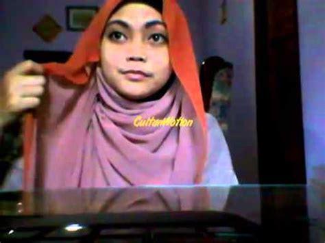 Pashmina Pashmina 3warna Pashmina Mocca cara memakai jilbab pashmina 2 warna by mersil
