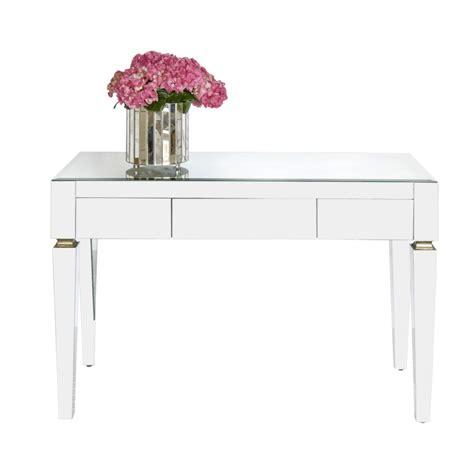 worlds away jacklyn beveled mirror 3 drawer desk