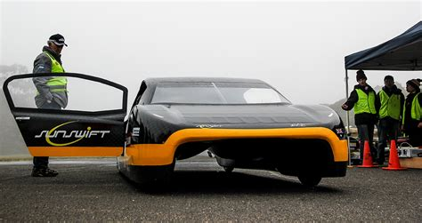 Tesla Solar Powered Car Students Build An Electric Car With Better Range Than A