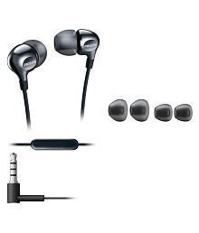 Philips She3705 Stereo Earphone With Mic Headset Headphone She 3705 philips headphones buy philips earphones headsets