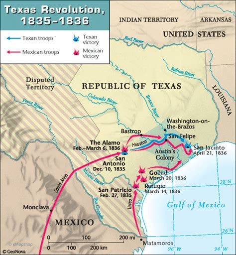 texas revolution map this is a detailed map of the battles of the texas revolution around s colony this