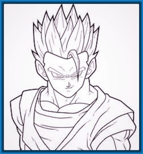 imagenes para dibujar faciles a lapiz de goku dibujos faciles de hacer a lapiz de dragon ball z archivos