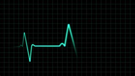 ekg heartbeat monitor animation motion background