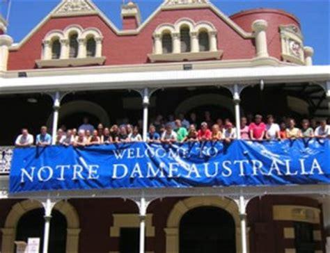 Mba Notre Dame Fremantle by Of Notre Dame Australia Admission 2018 Ug
