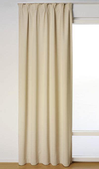 gardinenschals beige 1 st vorhang gardine 140 x 145 beige blickdicht