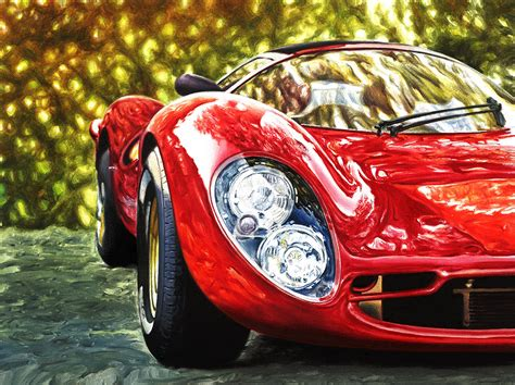 ferrari painting andrea del pesco the art of