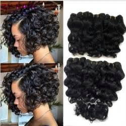 8 inch sew in hair styles summer new 8 inch deep wave tissage bresilienne queen