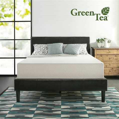 Green Tea Mattress by Memory Foam 12 Inch Green Tea Mattress Zinus