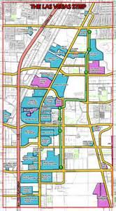 Vegas Usa Map by Las Vegas Strip Map Strip Map Of Las Vegas City Vidiani