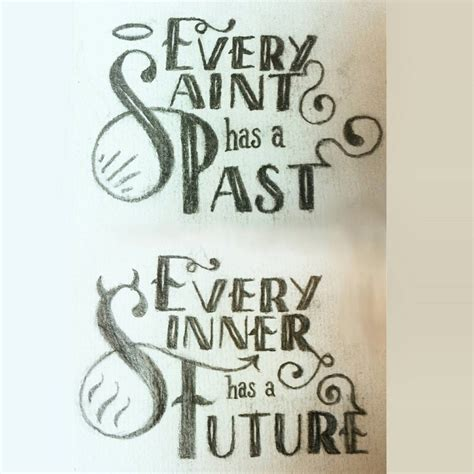 saint and sinner tattoo designs every has a past by bobbu on deviantart