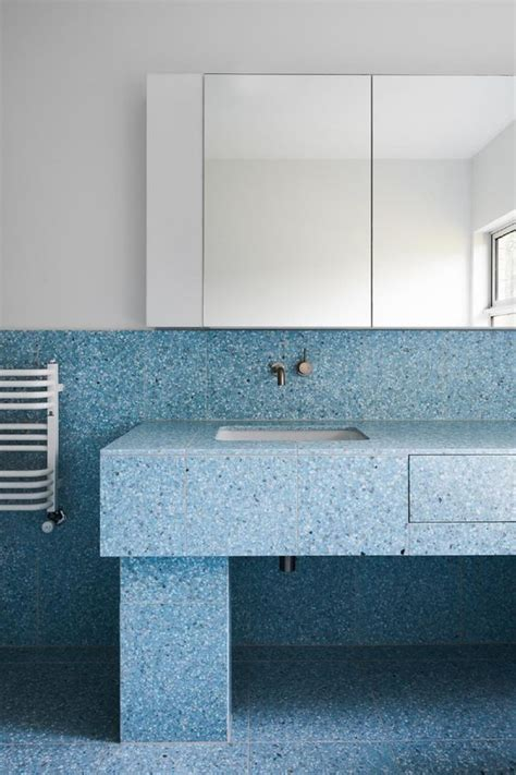 15 edgy terrazzo decor ideas for bathrooms shelterness