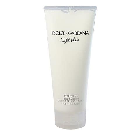 dolce gabbana light blue lotion dolce gabbana light blue refreshing body cream 100 ml