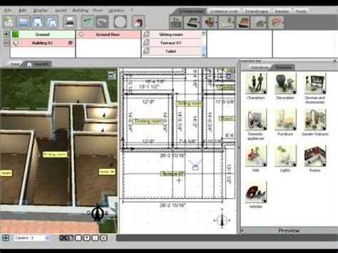 home design 3d by livecad for pc 3d home design by livecad tutorials 03 the terrace youtube