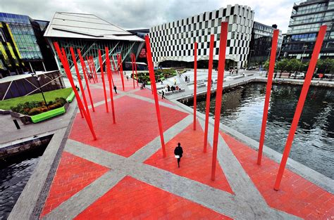Studio Ideas by Grand Canal Square Dublin Ireland Martha Schwartz Partners