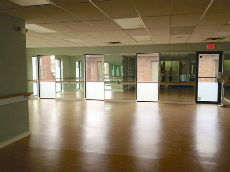 room covered in mirrors elements barre classes in