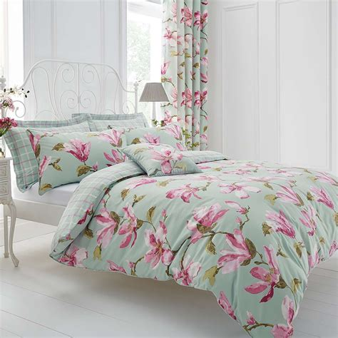 Tommony Bed Cover Magnolia duck egg magnolia bed linen collection dunelm home sweet home duvet covers