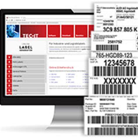 Barcode Etiketten Drucken Online by Barcode Etiketten Online Erstellen Und Drucken Firmenpresse