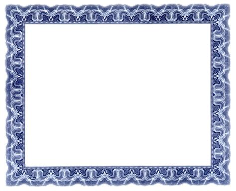 Frame clipart certificate   Pencil and in color frame