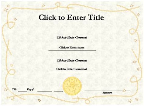 ppt certificate template award certificate template powerpoint