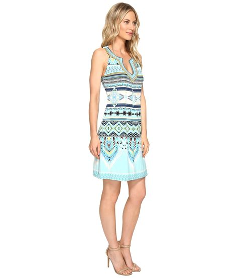Hale Bob Fashion Marks The Spot hale bob the sweet spot matte microfiber dress blue