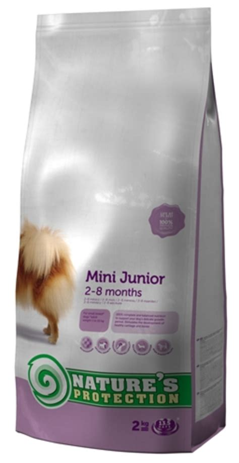 Natures Protection Mini Junior dierspullen nl nature s protection junior mini hondenvoer 2 kg nature s protection