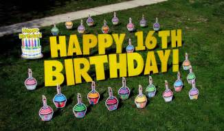 birthday signs for yard birthday yard signs