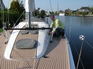 polijsten polyester boot schoon schip oosterhof sloep zeilboot onderhoud lemmer