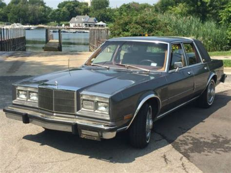 chrysler new yorker fifth avenue for sale used cars on buysellsearch purchase used 1983 chrysler new yorker fifth avenue in chicago illinois united states for us