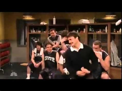 peyton manning saturday night live locker room snl will forte locker room skit youtube