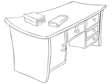 table coloring pages table clip art 12 coloringpagehub