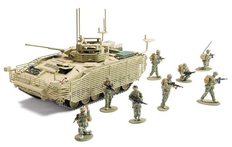 Set 4in1 2 Model airfix a50161 army attack gift set 1 48